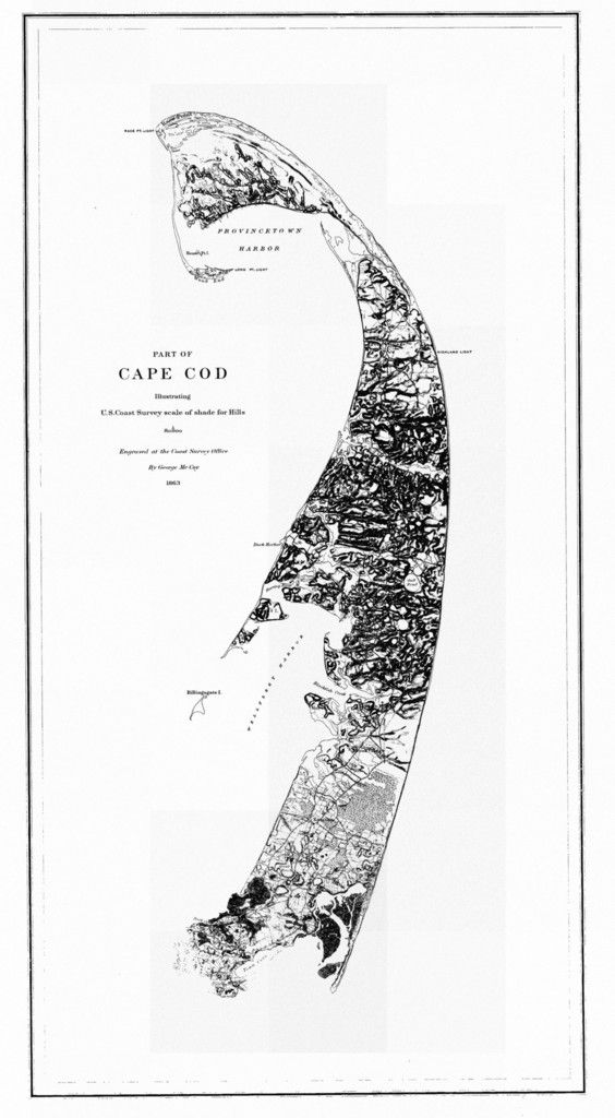A beautiful, high quality print of the historical map of Cape Cod (the outer Cape) from 1863. This map is professionally printed on top of the line digital equipment. It is printed on high quality pap