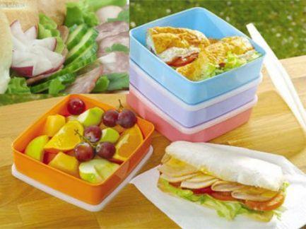 Viandas diet para la playa o el trabajo. Platos y colaciones livianos y sencillos, con el cálculo de calorías.