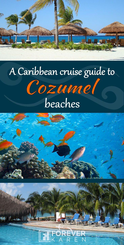 Which Cozumel Beaches Are Near The Cruise Port Cozumel Beach