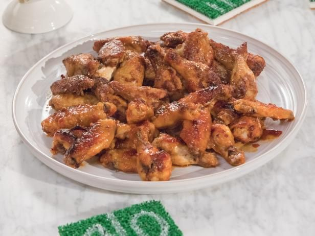 Get Mediterranean Chile Chicken Wings Recipe from Food Network