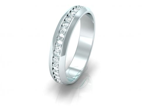MONICA - Wedding Ring FOR HER - LucyDiamonds.cz An exceptional diamond wedding ring for an exceptional woman...