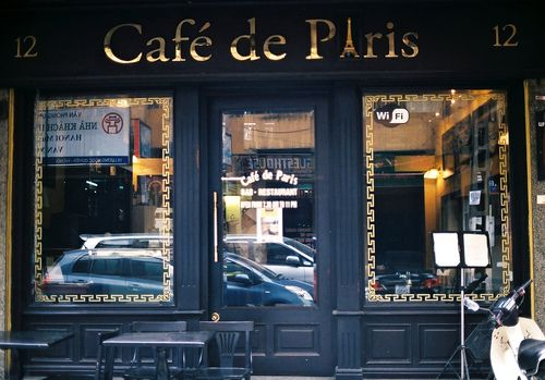 hanoi cafe paris: