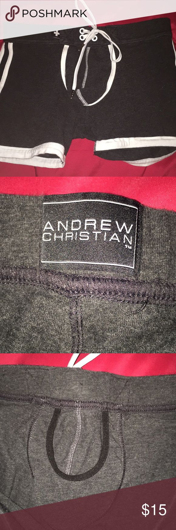 Andrew Christian Shorts Men's Andrew Christian shorts, size small, in great condition! Andrew Christian Underwear & Socks Boxer Briefs