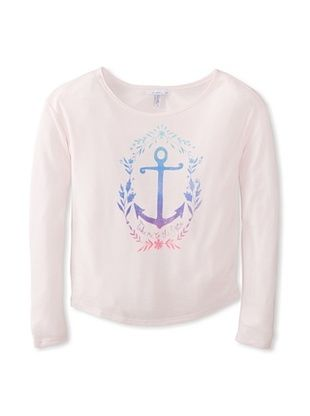 67% OFF O'Neill Girl's 7-16 Sailaway Tee (Cradle Pink)