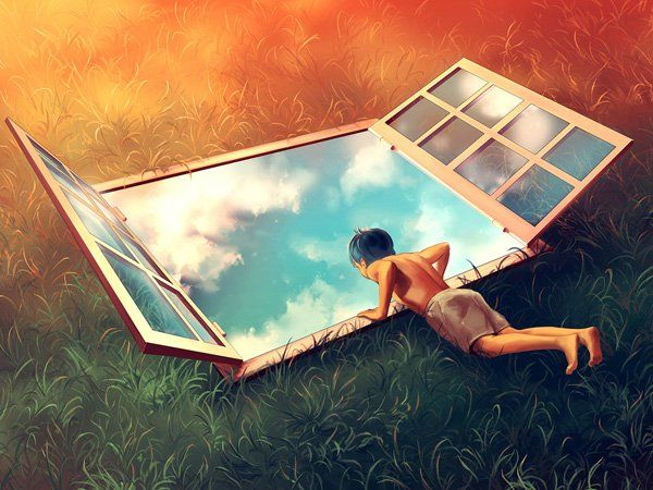 sweet vertigo by aquasixio - Surreal Digital Art by Cyril Rolando