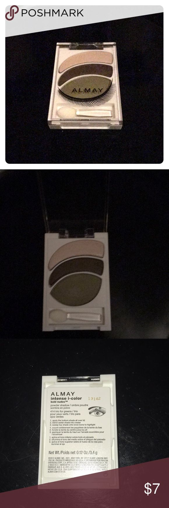 Almay eyeshadow intense I-color Brand new. Almay intense I color bold nudes powder shadow. Almay Makeup Eyeshadow
