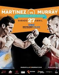 On April 27, Sergio Martinez and Martin Murray will fight for lineal Middleweight Championship in Argentina on HBO. Martinez is something of a knockout puncher, while Murray brings a lot of pressure to the table.  http://bleacherreport.com/articles/1618186-sergio-martinez-vs-martin-murray-hbo-boxing-goes-international