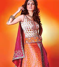 Pink and Orange- Sangeet