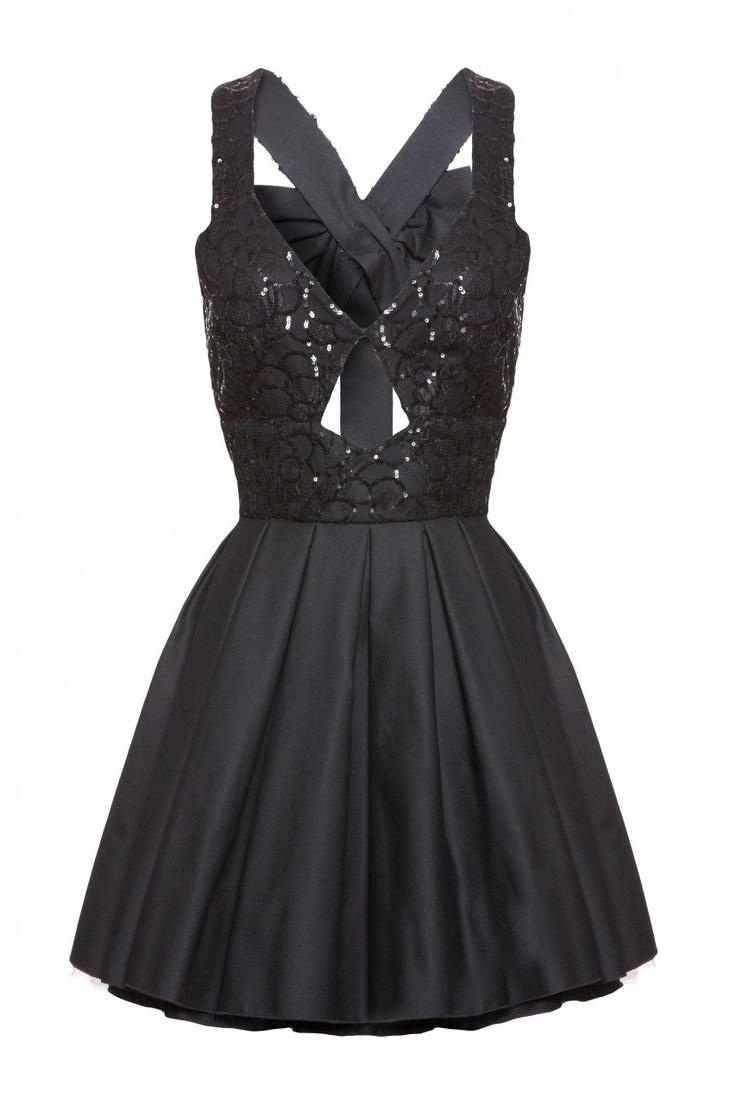 Jones and jones black sequin dress