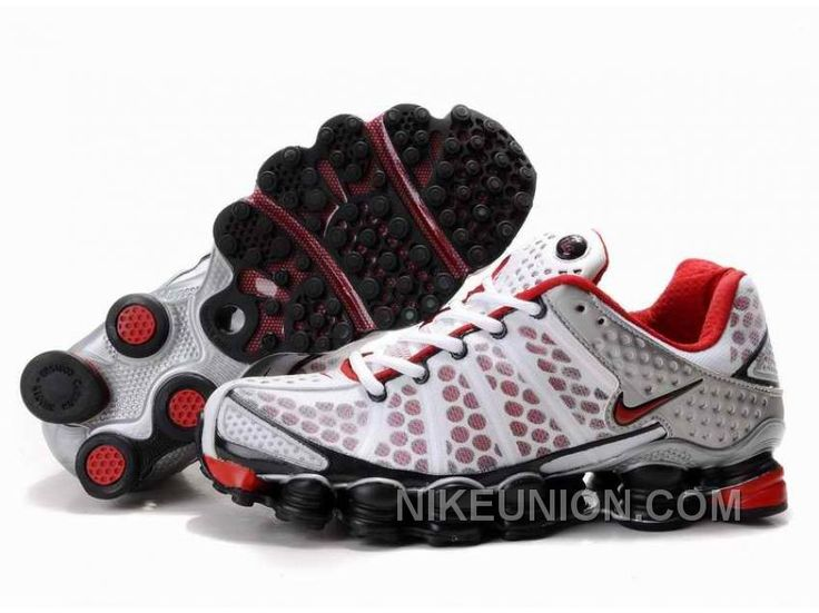 now buy mens nike shox tl shoes white black silver red online save up from outlet store at footlocke