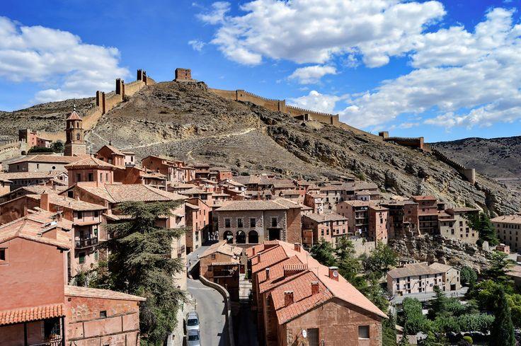 Panoramica de Abarracin (Albarracin - Spain)