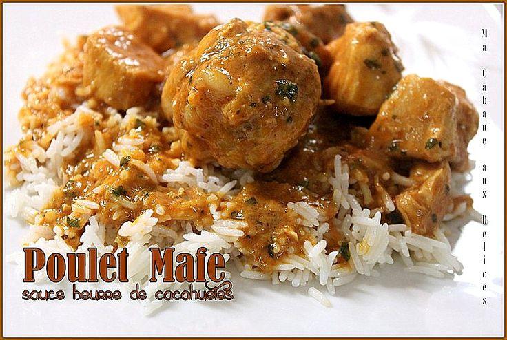 Recette de Mafé ou maafe au poulet. Un plat africain très populaire à la sauce dakatine. Voici le poulet mafé au beurre de cacahuètes sénégalais, facile