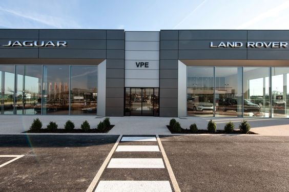 The New Dealership Of Vpe Pontoise Jaguar Landrover In