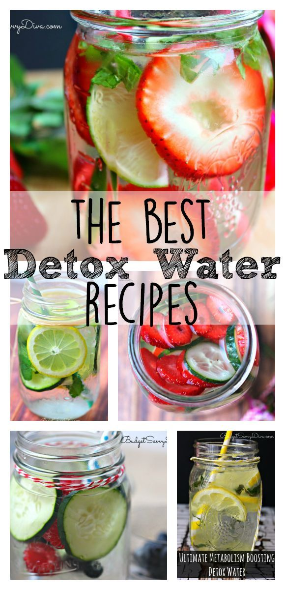 The Best Detox Water Recipes! This is the list to lose weight and help fat burning. These type of recipes are like Jillian Michaels. They are filled with Lemon and Grapefruit goodness. Get the flat belly for the summer.
