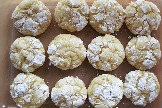 Gooey Butter Cake Cookies-I LOVE Gooey Butter Cake!