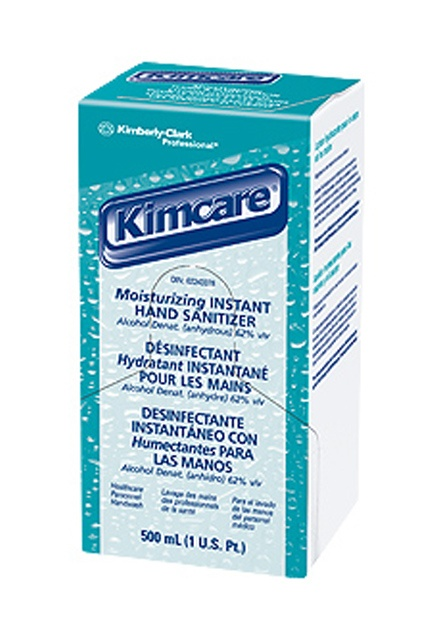 Kimcare Moisturizing instant hand sanitizer: Moisturizing instant hand sanitizer with high capacity disposable refill.