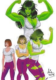 she hulk  http://static.comicvine.com/uploads/original/6/63775/1196956-she_hulk_by_islandofdelos.jpg