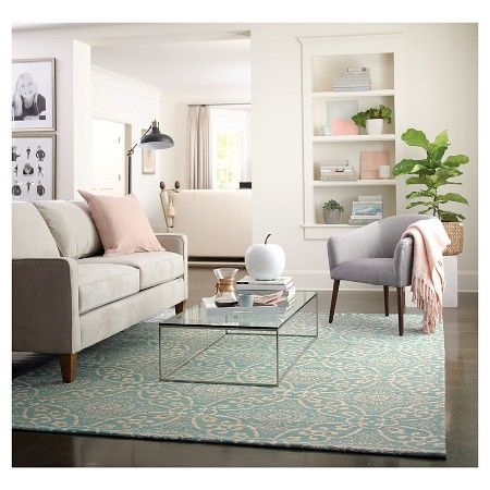 threshold savanna area rug target turquoise rugnew living roomarea