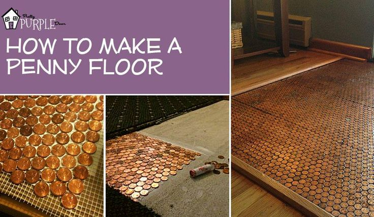 17 Best Ideas About Penny Flooring On Pinterest Pennies
