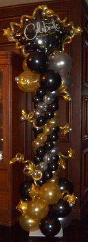 New Year's Balloon Decor Tulsa OK #balloon #decor #silvester #tulsa