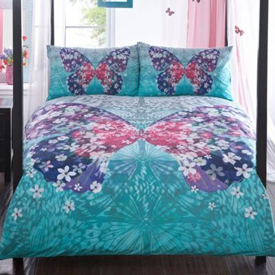 Butterfly Home by Matthew Williamson Multicoloured 'Wings' bedding set- at Debenhams.com