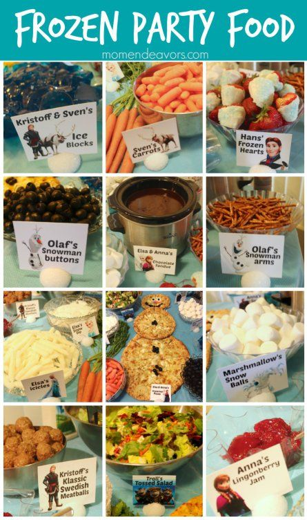 The BEST Frozen Themed Food Ideas - Double the Batch