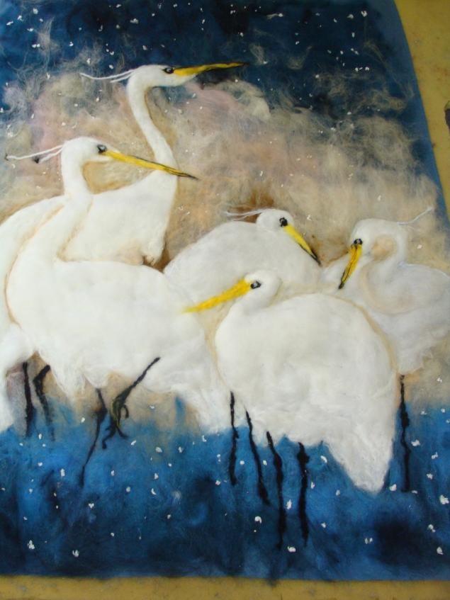 Живопись шерстью, мои мартовские мастер-классы в Москве - Ярмарка Мастеров - ручная работа, handmade