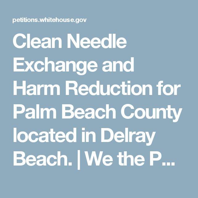 West Palm Beach Needle Exchange