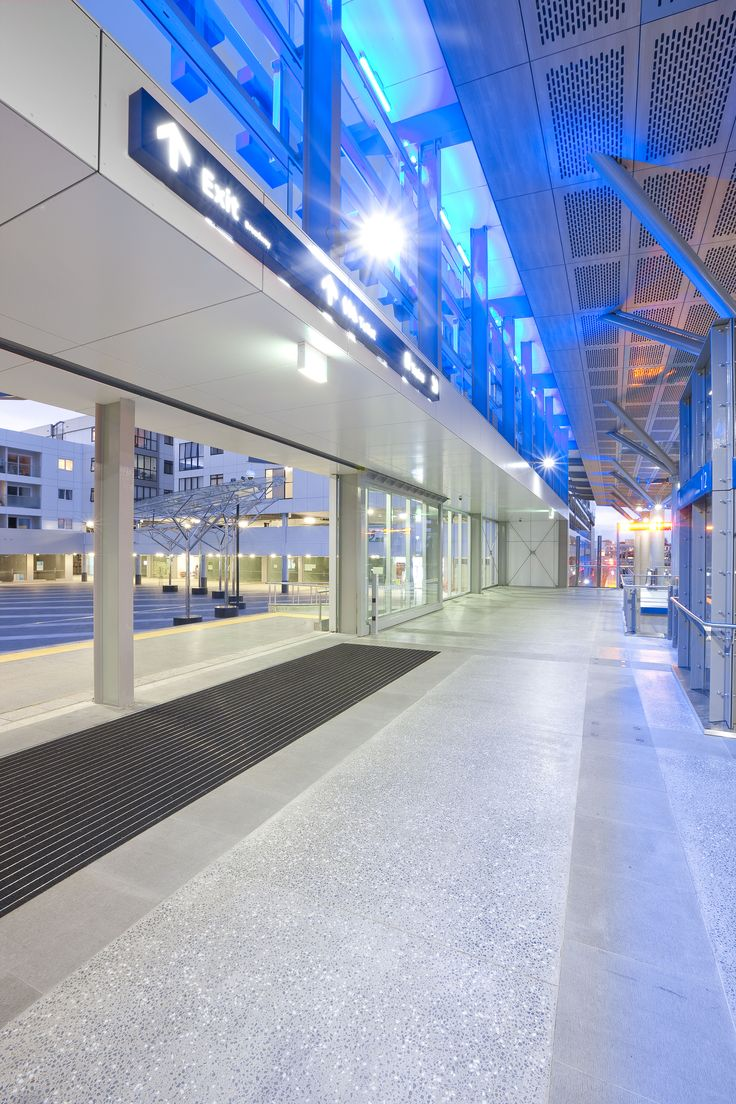 ExoTec Facade panel at Britomart station