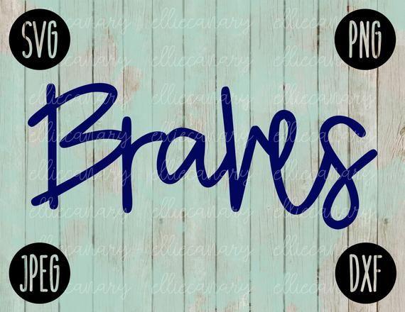Fußball SVG Braves Spiel Tag Sport Team Svg Png Jpeg Dxf / kommerzielle Nutzung / Viny …   – Products