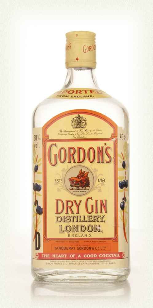 8 - Gordon's Dry Gin - early 1980s