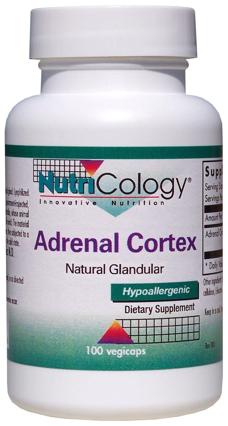 Adrenal Cortex Natural Glandular 100 Caps