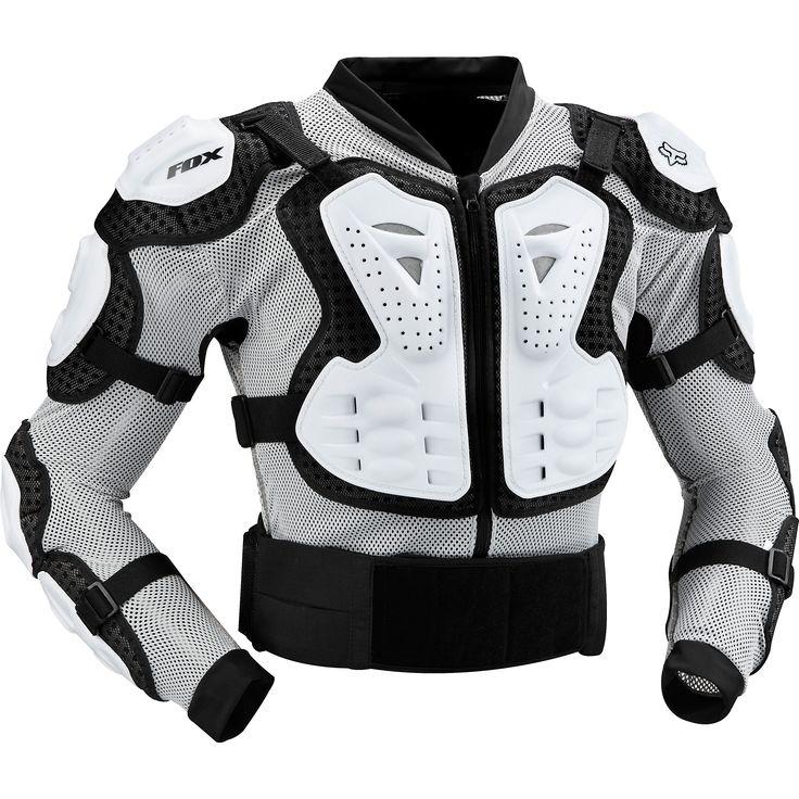 Gilet de Protection FOX TITAN SPORT Blanc - Probikeshop