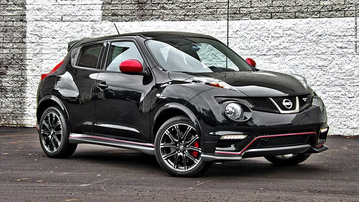 nissan juke nismo rs, $25-30K, MPG = 28/34, rough ride