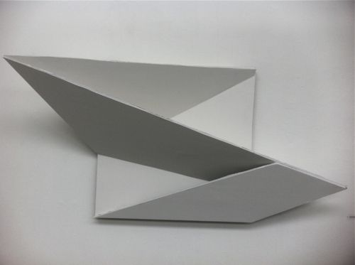3D form on flat surface