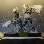 "Banksy Opens the ""Walled Off Hotel"" in Bethlehem"