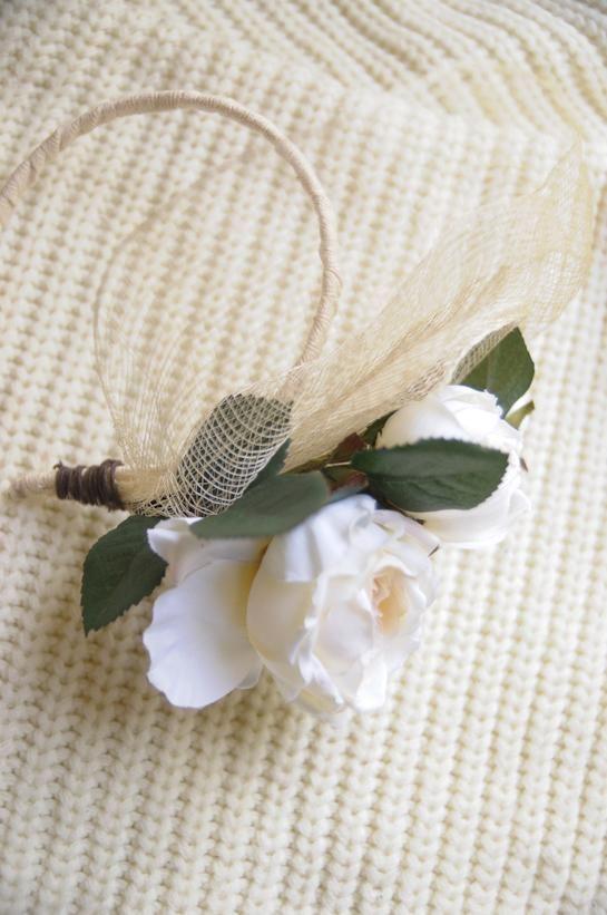 How to make a fascinator DIY Floral Fascinator DIY Wedding DIY Hair Accessories