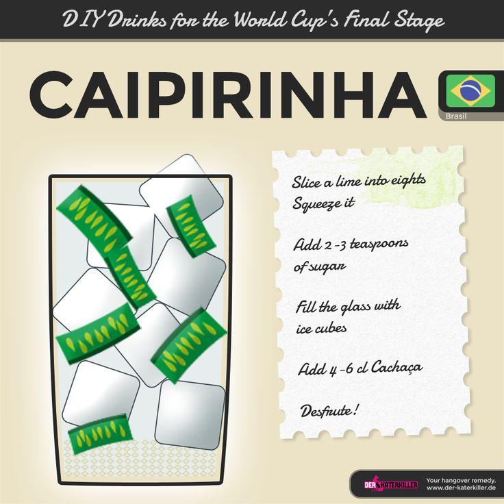 Homemade. Literally. Classic recipe for a good ol' Caipirinha.