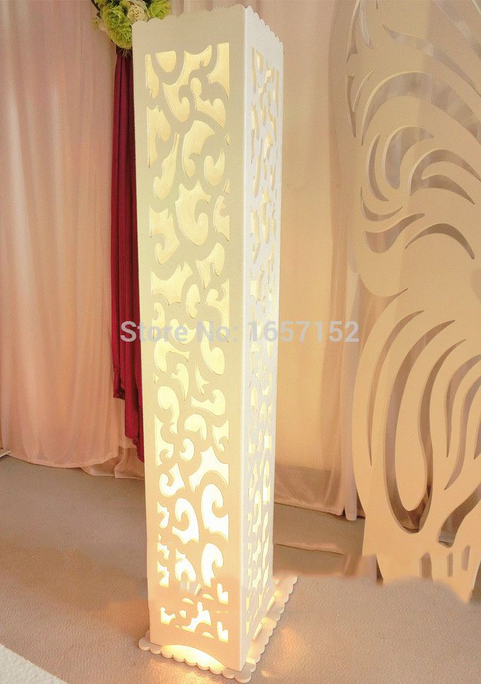Cheap wedding flower clip art, Buy Quality pillar cover directly from China wedding dress with blue sash Suppliers:  4PCS Wedding carved pillar wedding stand with LED light (Voltage:180V~240V)   Size: 20cm/7.9inch *20 cm/7.9inch *