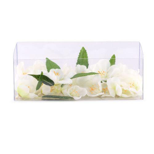 Decoratiuni - Set flori, artificiale, alb la numai 6.00 RON