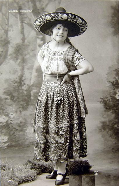 China Poblana dress, 1909.