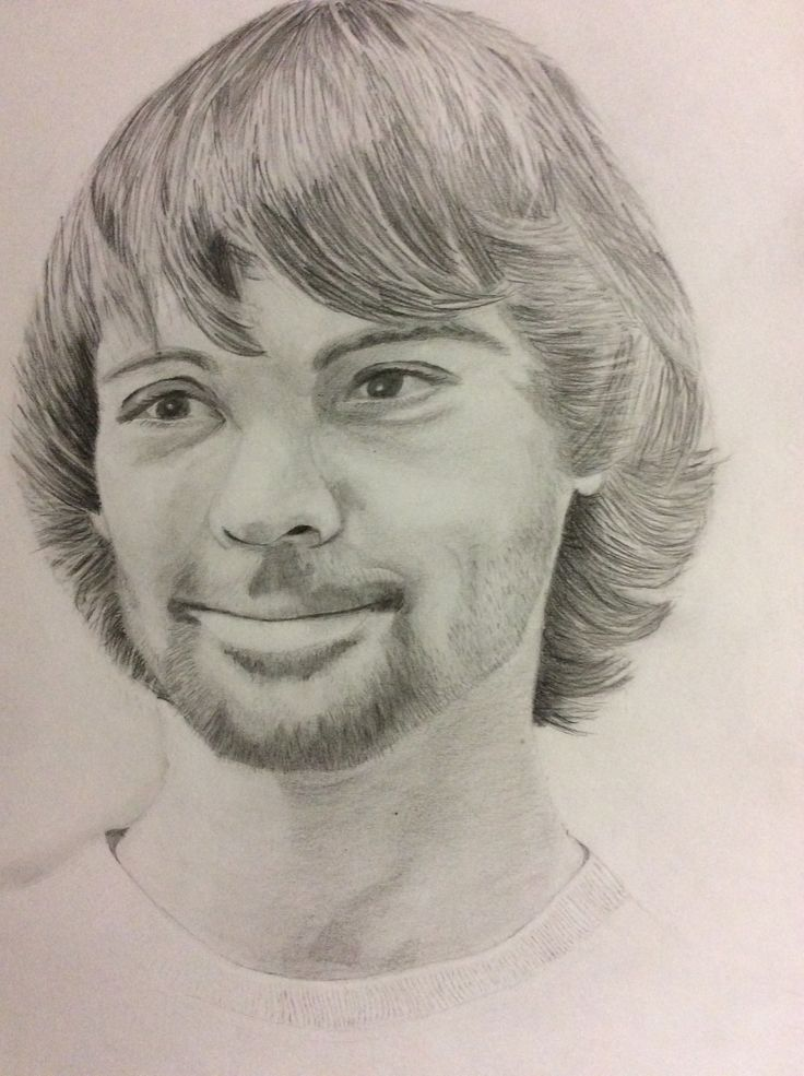 Pencil drawing  Nicholas by Heather Anderson 2015