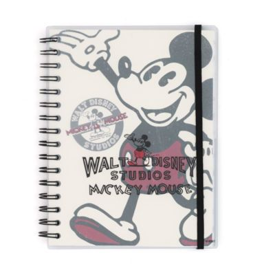 Bring a touch of Disney magic to your day-to-day with this characterful Mickey Mouse journal. Part of the stylish Walt Disney Studios collection, if features classic artwork and fun, detailed pages.