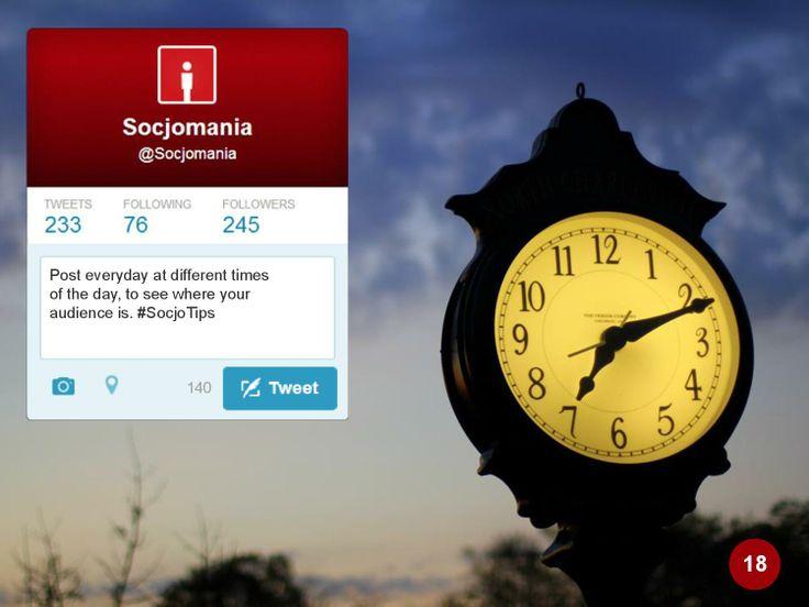 50 Twitter Tips (18). Full presentation: https://www.slideshare.net/Socjomania/the-ultimate-guide-to-twitter-50-useful-tips  #Twitter #TwitterTips #SocialMedia #SocialMediaTips