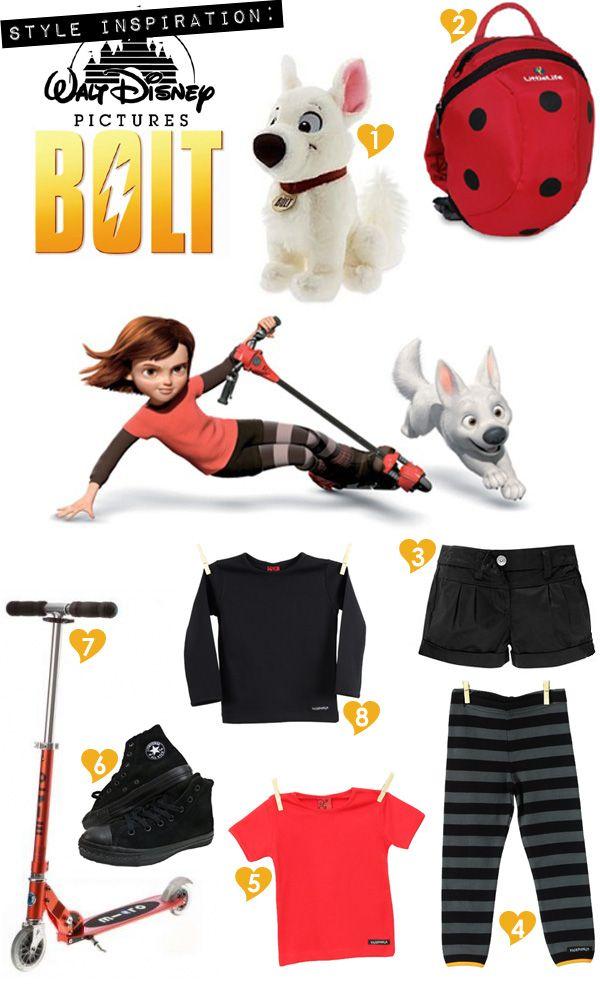 Style Inspiration - Disney's Bolt Bella thinks she's Penny!