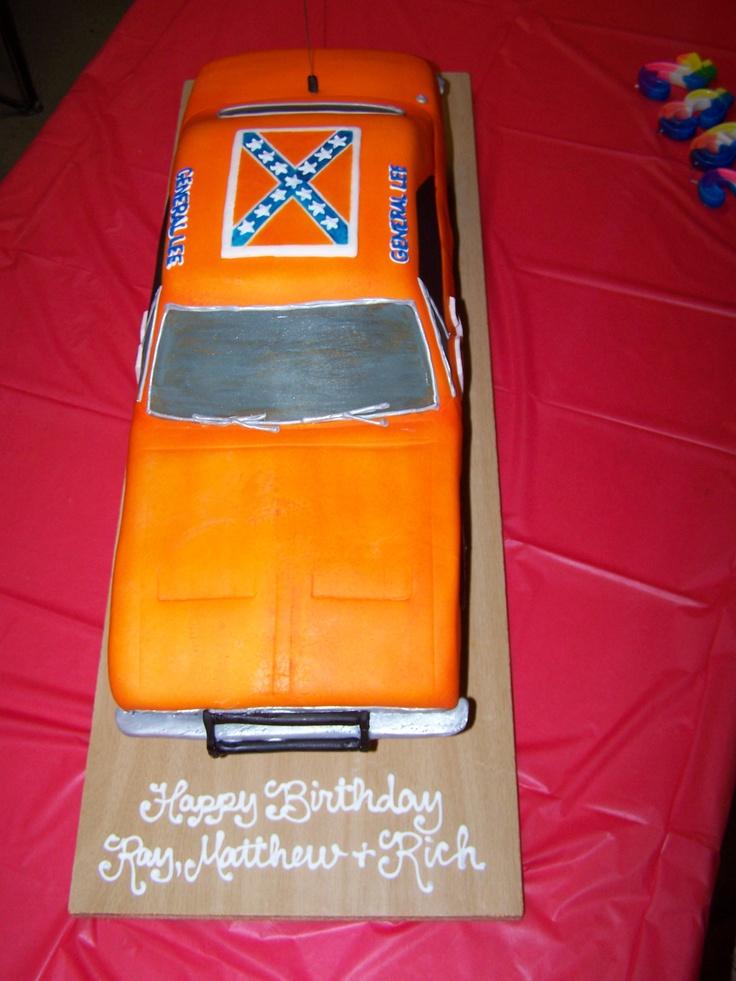 General Lee Dukes Of Hazzard Cake General Lee Cupcakes Dukes Of