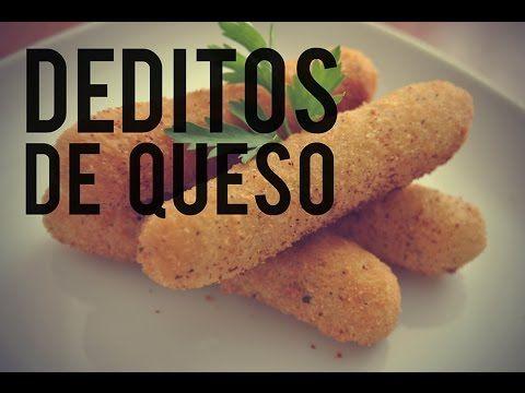 Dedos de queso. RECETA FÁCIL #Receta #Queso