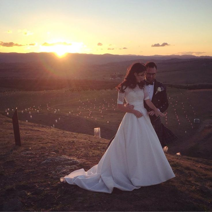 Another amazing wedding photo taken at the National Arboretum in Canberra.  Wedding gown altered by Jerrabomberra Clothing Alterations.