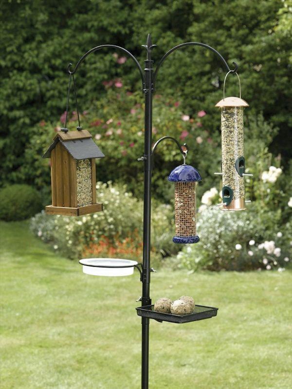 A Quick Guide To Feeding Birds My Favorite Feeders Bird Feeding Station Backyard Birds Feeders Bird Feeder Poles