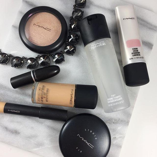 MAC Makeup - MAC Foundation - Strobe Cream - MAC Fix Plus - Prep and Prime - MAC Cosmetics